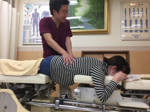 妊婦さん用ベッド